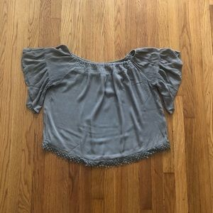 Charlotte Russe Green Top